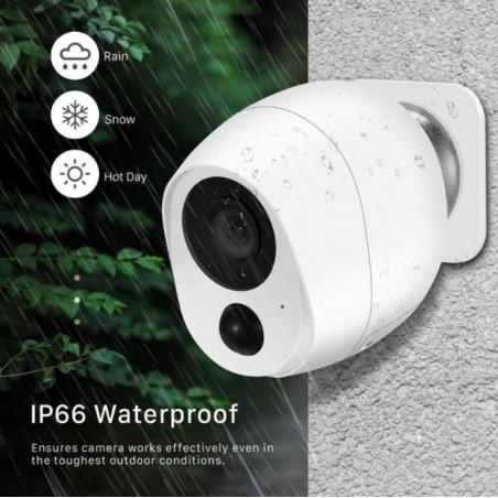 1080P Wireless IP Camera SD Card Storage Audio 2MP Wifi Security CCTV Camera IR Night Vision Mini Battery Camera Wireless 3