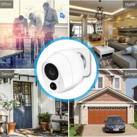 1080P Wireless IP Camera SD Card Storage Audio 2MP Wifi Security CCTV Camera IR Night Vision Mini Battery Camera Wireless 4