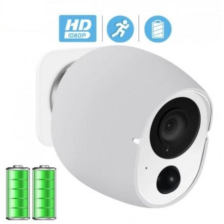 1080P Wireless IP Camera SD Card Storage Audio 2MP Wifi Security CCTV Camera IR Night Vision Mini Battery Camera Wireless 2